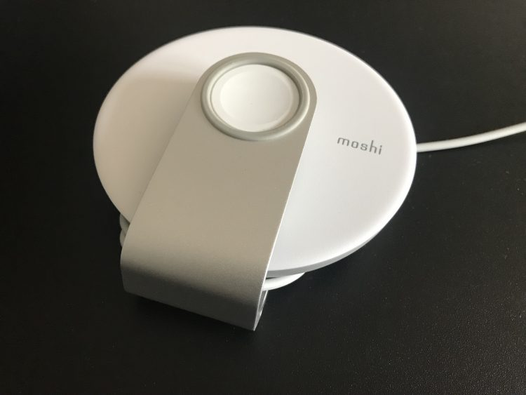 GearDiary The Moshi Apple Watch Travel Stand Is Great on the Go