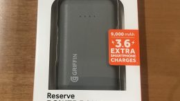 GearDiary The Griffin Reserve Power Bank Will Charge Your Devices on the Go