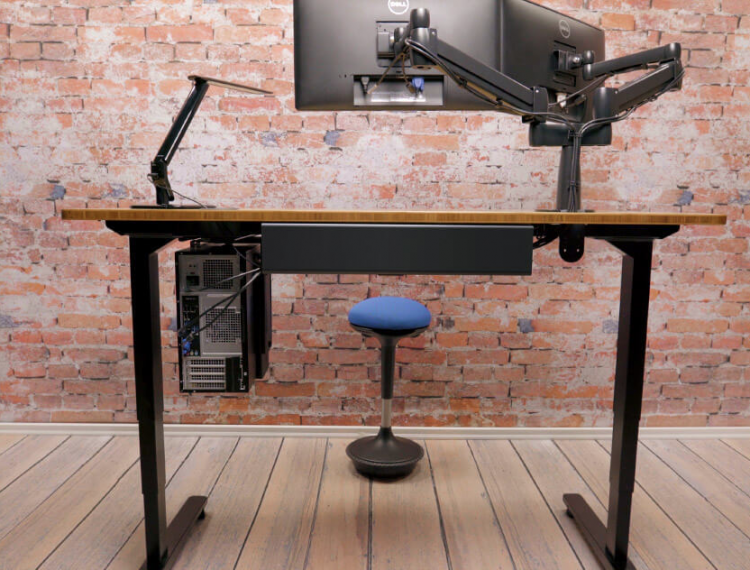 """UPLIFT Stand Up Desk with 1"""" Thick Bamboo Top Review"""