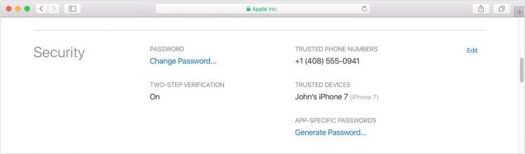 Make Sure Your Apple ID Is Set for Two Factor Verification, NOT Two