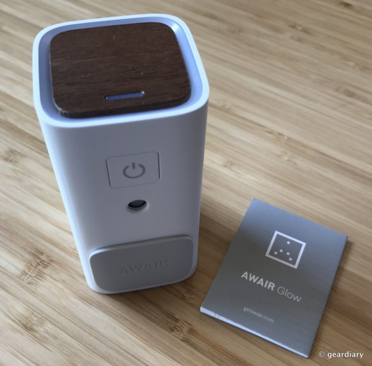 Awair Glow: Monitor and manage the Air in Your Home or Office from Anywhere