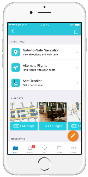 TripIt Is Now Your Airport Sidekick