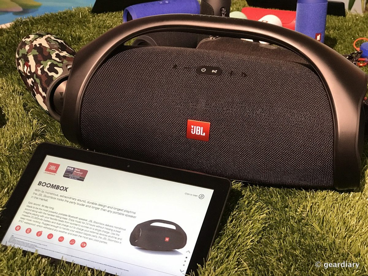 Jbl Boombox Makes Portable Sound Epic Geardiary