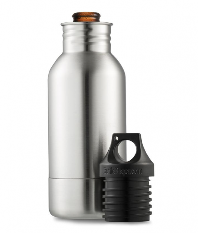 GearDiary BottleKeeper Keeps Your Beer Fresh and Cold