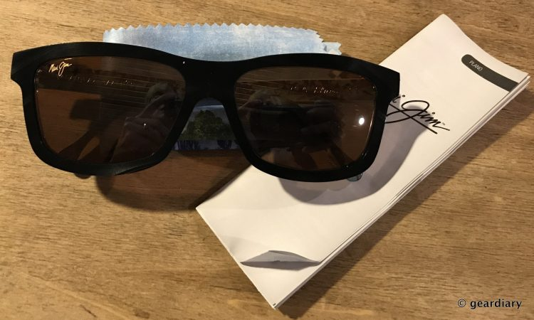 GearDiary Maui Jim Limited Edition Vinylize Hula Blues Sunglasses: More Than Meets the Eye