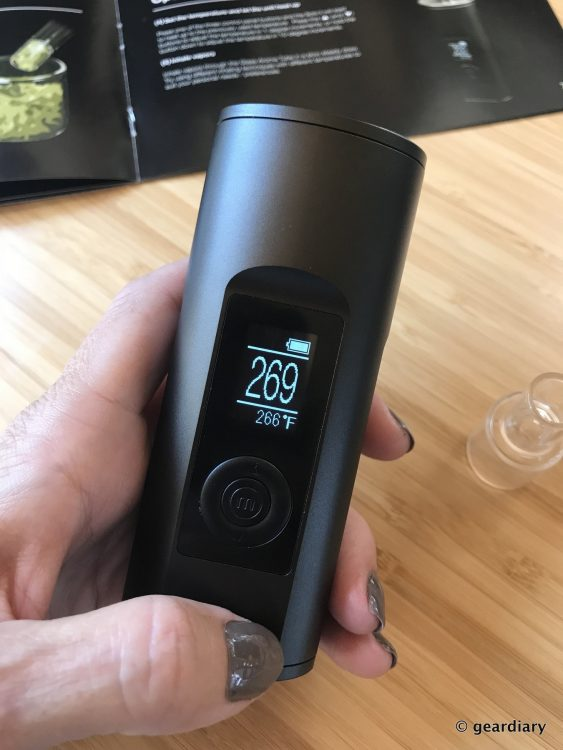 GearDiary Arizer Solo II Vaporizer: Precise Temperature Control for all Herbs