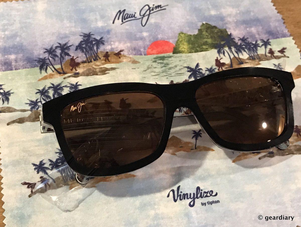 4df773885ae Maui Jim Limited Edition Vinylize Hula Blues Sunglasses: More Than Meets  the Eye