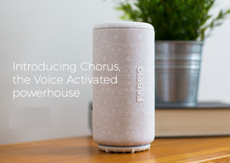 FABRIQ Chorus Is a Good-Looking Alexa-Enabled Voice Activated Speaker with Bluetooth, Too!