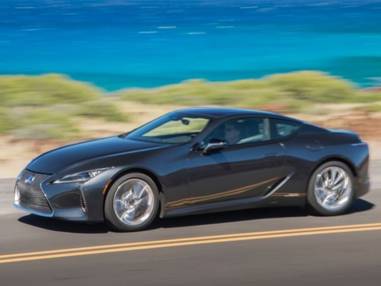 GearDiary 2018 Lexus LC 500h Hybrid Luxury Sport Coupe: A Blast From the Future