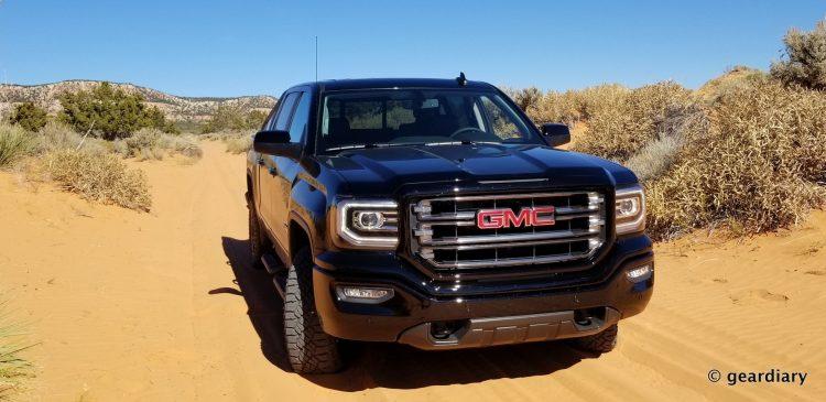 GearDiary GMC Trucks First Drive: Low-Key Luxury in the Sand