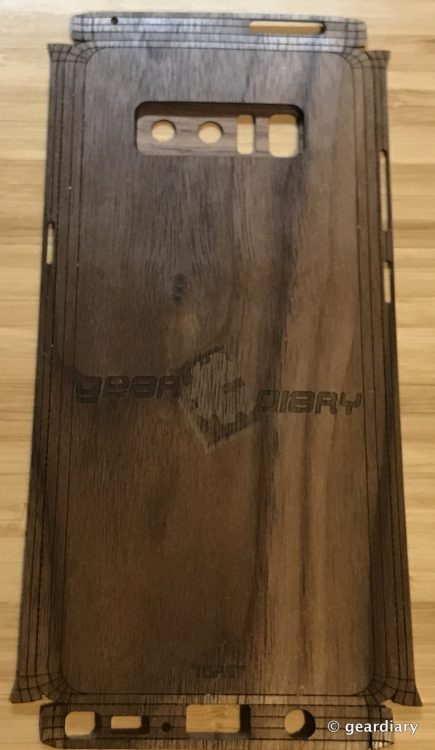 GearDiary 23-Toast Wood Veneer Skin for the Samsung Galaxy Note8 Review-022