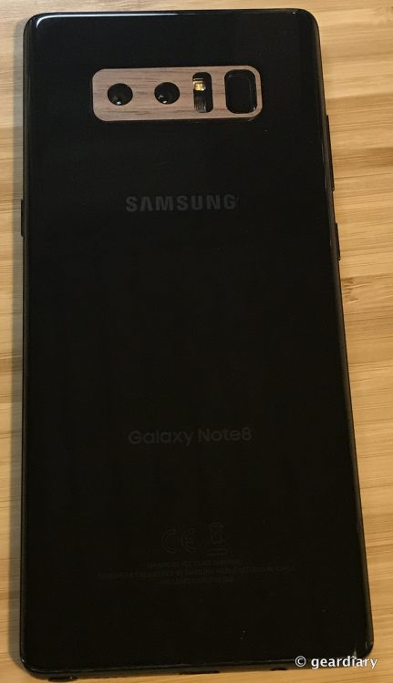 GearDiary 25-Toast Wood Veneer Skin for the Samsung Galaxy Note8 Review-024