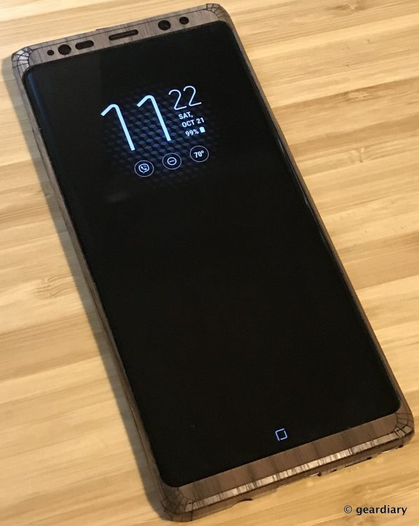 GearDiary 39-Toast Wood Veneer Skin for the Samsung Galaxy Note8 Review-038