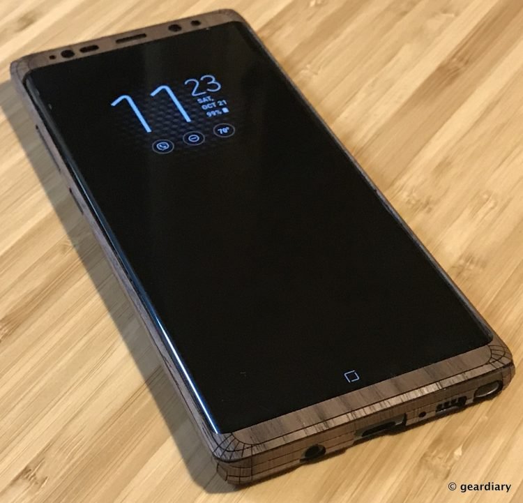 GearDiary 41-Toast Wood Veneer Skin for the Samsung Galaxy Note8 Review-040