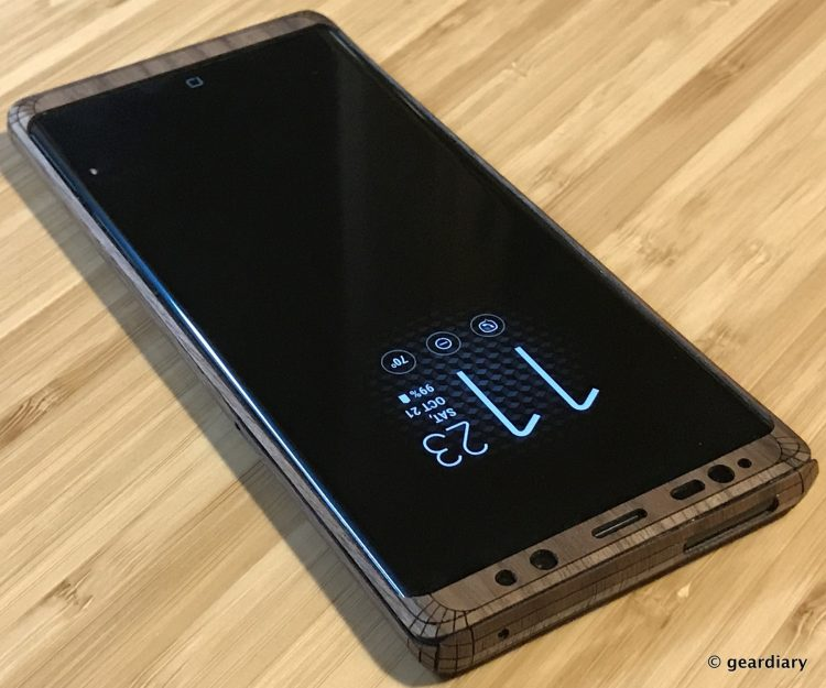 GearDiary 43-Toast Wood Veneer Skin for the Samsung Galaxy Note8 Review-042
