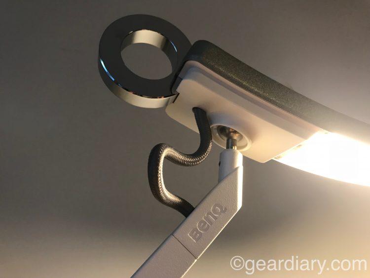 GearDiary BenQ E-Reading Eye-Care LED Modern Premium Designer Desk Lamp Brightens My Day and Night