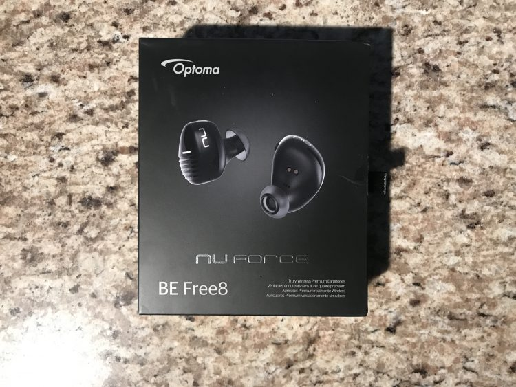 GearDiary Be Free with Optoma's New BE Free8 Wireless Earbuds