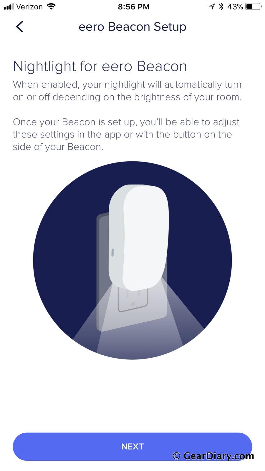 Beacon Setup