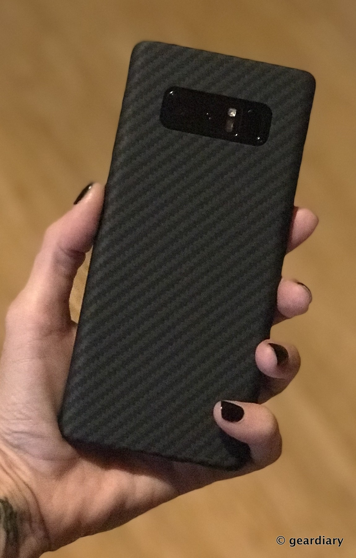 huge selection of 39bd6 1acbc Pitaka Aramid MagCase and MagMount for the Samsung Galaxy Note8 Review