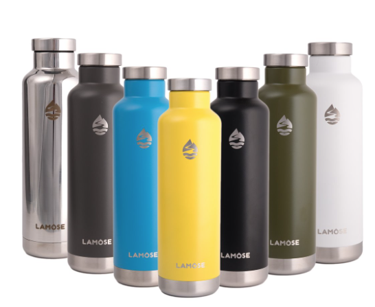 GearDiary The LAMOSE Moraine Water Bottle Is an affordable Way to Stay Hydrated in Style
