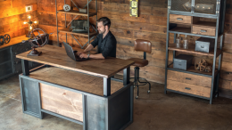GearDiary The XDesk Vintage Line of Standing Desks Is a Gorgeous, Albeit Pricey, New Line of Standing Desks