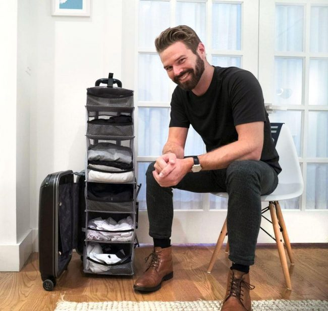 GearDiary Clumsy People Need This Carry-on Closet