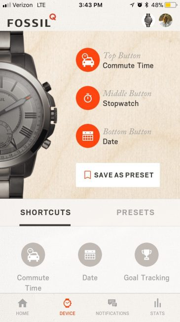 Fossil Q Grant Review: It's Smarter Than the Average Watch