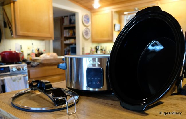 GearDiary The Midea Locking Lid 6-Quart Slow Cooker Can Handle Your Holiday Entertainment Needs