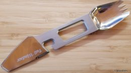 GearDiary Full Windsor Muncher: The Titanium Multi-Utensil You've Been Waiting For