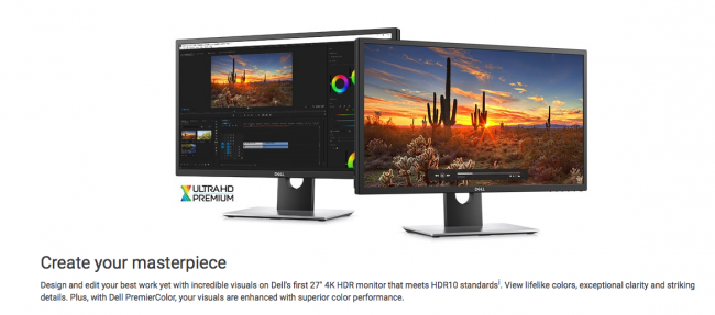 """GearDiary Dell UP2718Q 27"""" 4K HDR Monitor Is Impressive with a Price to Match"""