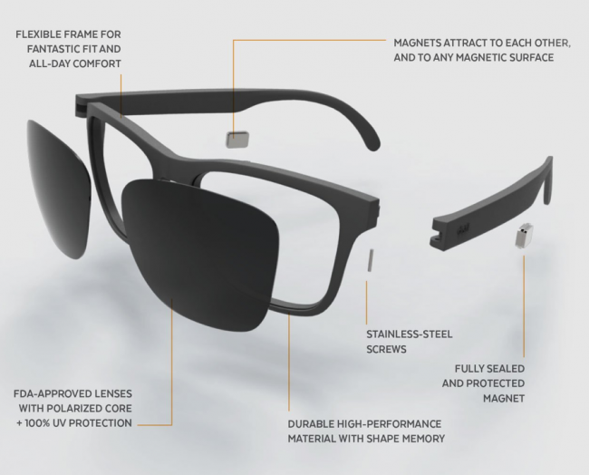 Distil Union MagLock Folly Sunglasses Stick Around Thanks to Magnets