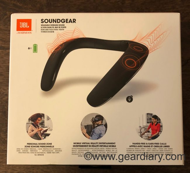 GearDiary JBL Soundgear Wearable Speaker Breaks the Mold, but to What End?