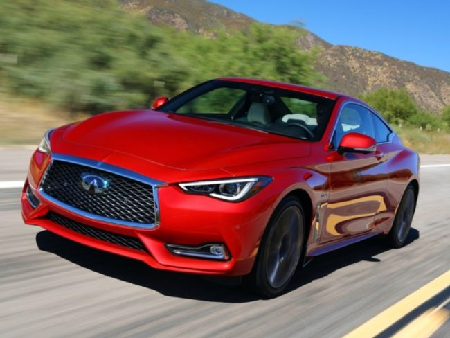 GearDiary 2018 Infiniti Q60 Red Sport 400 Is the 'Coupe' de Grace!