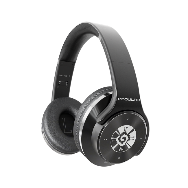 GearDiary Modular's MOD-1 Bluetooth Headphones Are Digital, Analog, and Wireless All in One