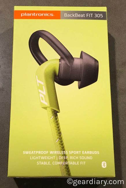 GearDiary Get Moving with the BackBeat FIT 305 Wireless Sweat-Proof Sport Earbuds