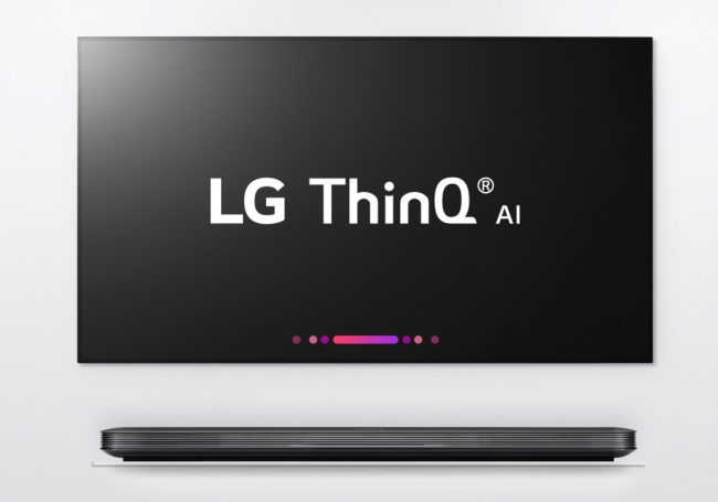 GearDiary LG Unveils ThinQ TVs Boasting Artificial Intelligence