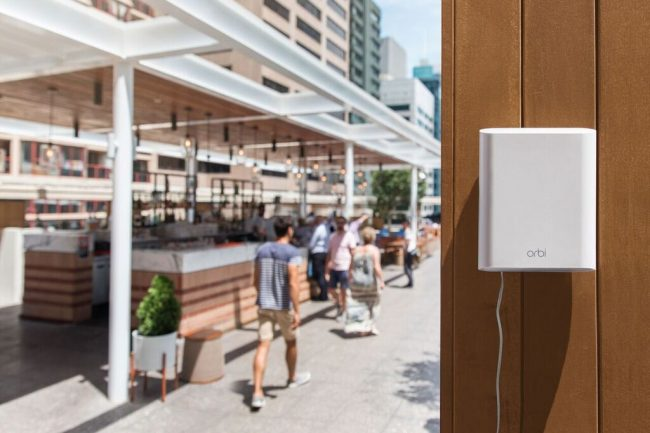 GearDiary NETGEAR Takes Wi-Fi Beyond Your Home with the Orbi Outdoor Satellite