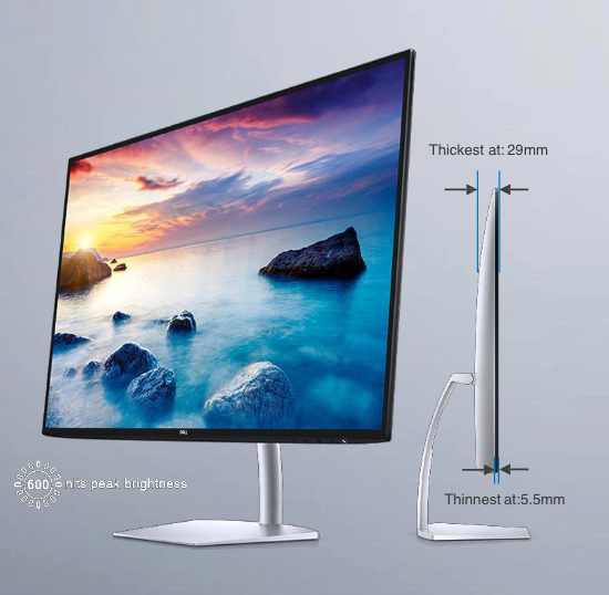Dell's Got Two New Ultra-thin and Ultra-Powerful Monitors