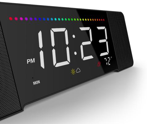 The Sandman Doppler Isn't a Bedside Clock, It is an Alexa-powered Information Hub