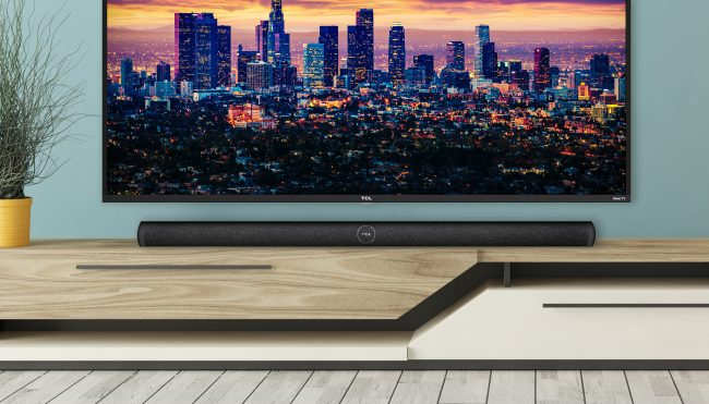 TCL's Roku Smart Soundbar Replaces Your TV Remote with Your Voice