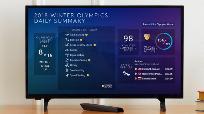 GearDiary Xfinity X1 Loves the Olympics Like a True Sports Fan!