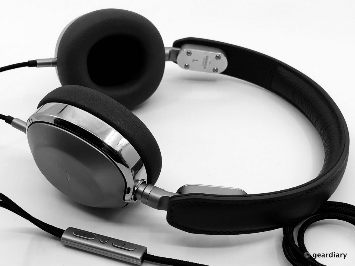 Shinola Canfield On-Ear Wired Headphones Review • GearDiary