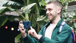 GearDiary Never Miss the Perfect Shot with the Just Mobile ShutterGrip