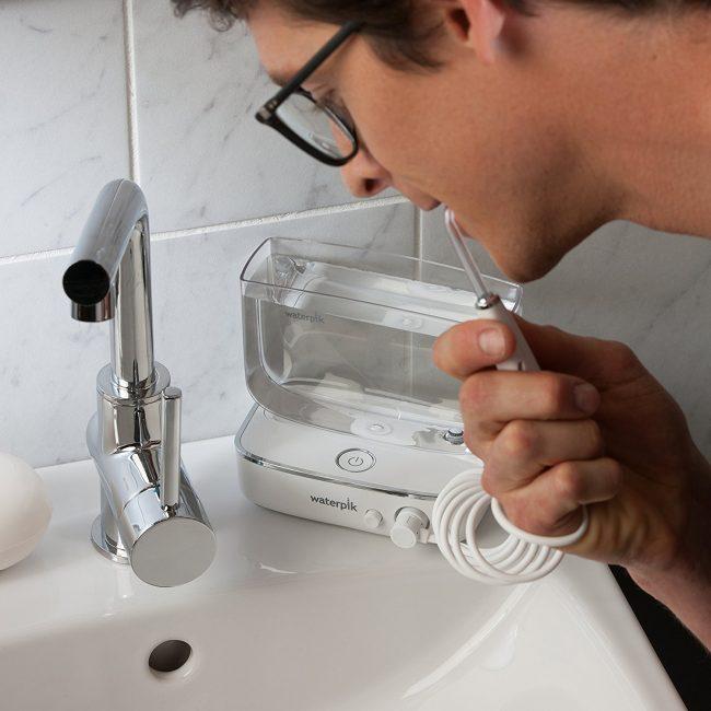 GearDiary Waterpik's Latest Flosser Whitens Your Teeth, Too