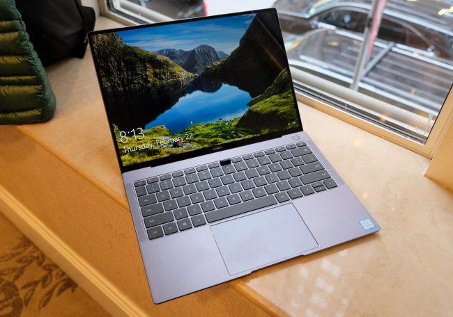 Huawei MateBook X Pro Rocks the Most Unique Webcam Design Ever