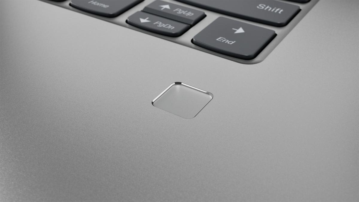 Fingerprint reader with Windows Hello on 15-inch Lenovo Yoga
