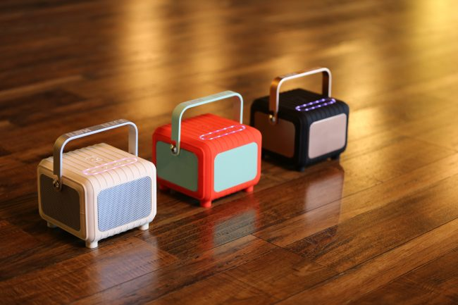 GearDiary Tutti Studio Matti: Funny Name for a Cute, Retro-Design Wireless Speaker