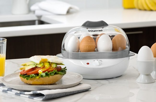 The Gourmia Electric Egg Cooker Makes Boiled Eggs a Breeze