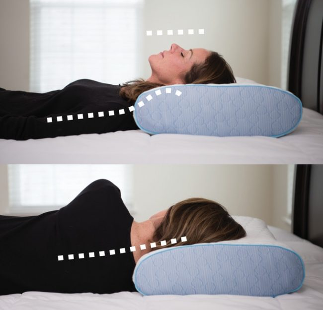 Comfortadjust Pillow Will Prevent You From Waking With A Stiff Neck