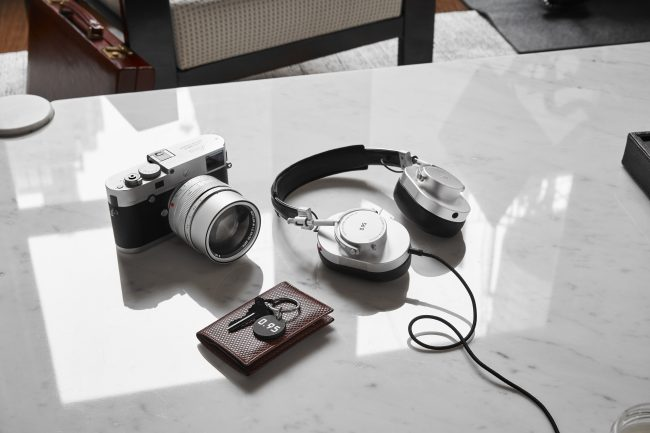 Master & Dynamic and Leica Partner to Bring Us Beautiful Silver Edition Headphones